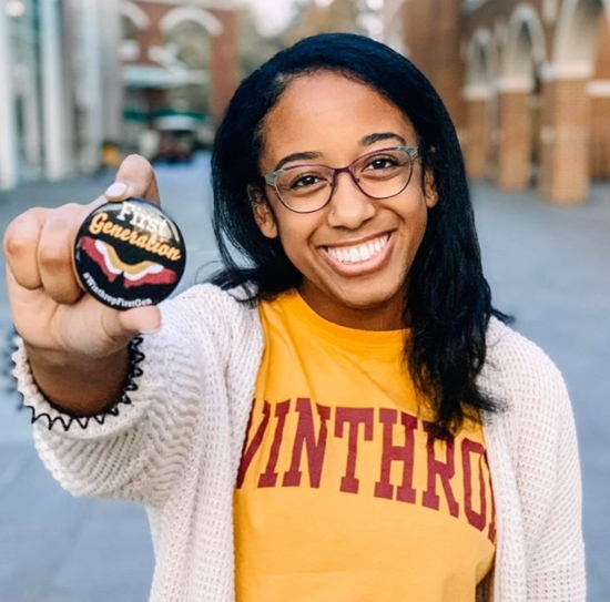 Winthrop University Receives National First-gen Forward Designation